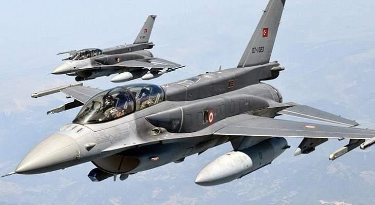 النشرة: الطيران التركي يغير على مواقع للاكراد في تل رفعت