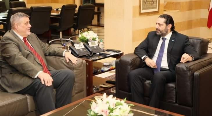 المنسق الخاص للامم المتحدة في لبنان:لتأمين العودة الطوعية والامنة للاجئين السوريين