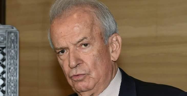 حمادة: لبسط سيادة الدولة وسيطرتها على كل الأراضي اللبنانية قبل تشريع الحشيشة