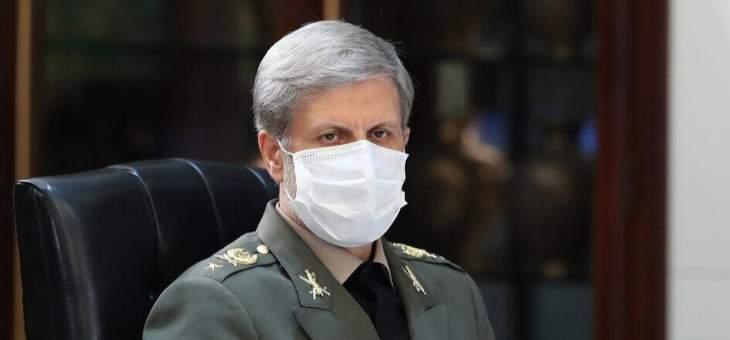وزير الدفاع الإيراني: الجيش نفّذ دوره بامتياز للدفاع عن استقلال أراضي البلاد ووحدتها