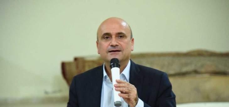 أبي رميا إقترح إلغاء المادة 64 من النظام الداخلي لمجلس النواب