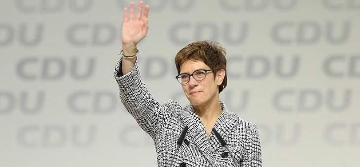 وزيرة الدفاع الألمانية: مستمرون بدعم العراق في إطار التحالف الدولي