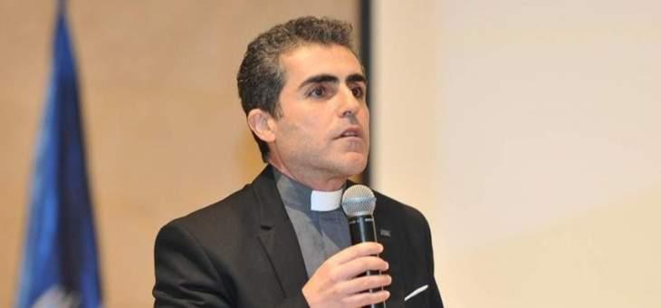 """الأب هاشم أطلق كرسي """"الأخوة الإنسانية"""" في حرم جامعة الروح القدس"""