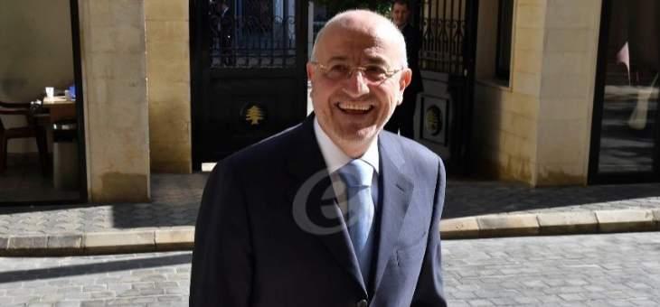 غازي العريضي: السياسة المصرية أحترمت التعددية السياسية في لبنان