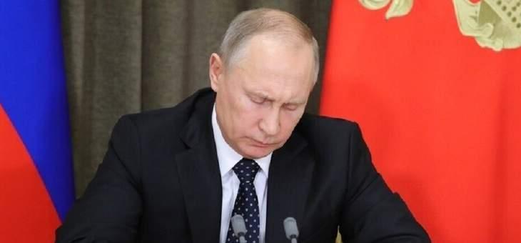 بوتين: الطلب على منتجات التكنولوجيا الفائقة المدنية يجب أن يغطيه المنتجون في روسيا