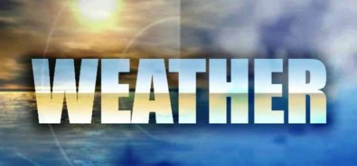 الطقس غداً صاف الى قليل الغيوم مع ارتفاع محدود بدرجات الحرارة