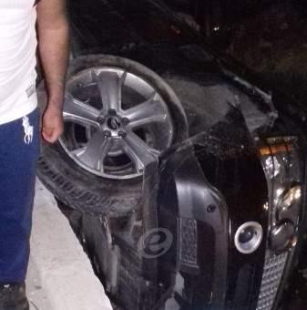 النشرة: 3 جرحى بحادث سير على طريق ديرزنون رياق