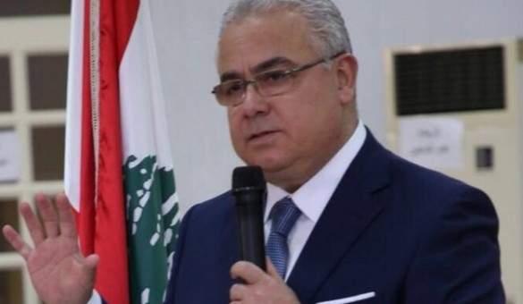 غسان سكاف: فرصة تاريخية لتمويل قطاعات الصحة وتغطية صحية شاملة للمواطن
