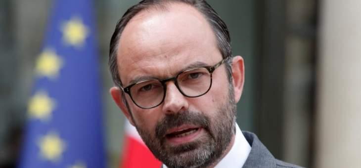"""رئيس وزراء فرنسا: إقناع تركيا بوقف """"نبع السلام"""" صعب للغاية"""