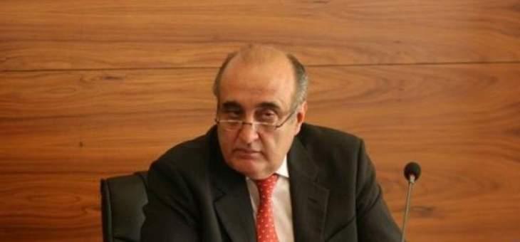 عبود: للعمل من أجل فتح الاسواق العربية أمام الانتاج اللبناني
