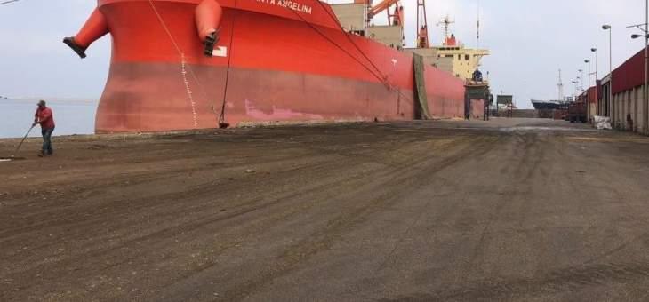 مرفأ طرابلس: خطان بحريان جديدان لشركة فرنسية يمران بالمرفأ