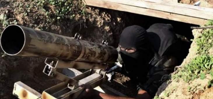 كتائب القسام أعلنت توجيه ضربة صاروخية لمنطقة ديمونا