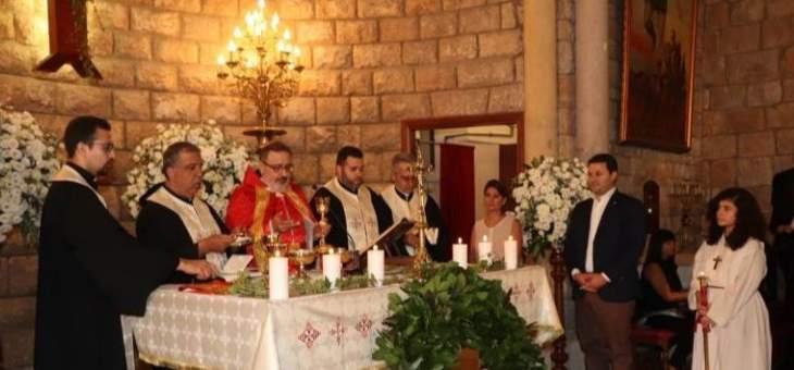 الأب جلخ: بشير الجميل حمل صليب لبنان وسار به كعلامة حب للبنان