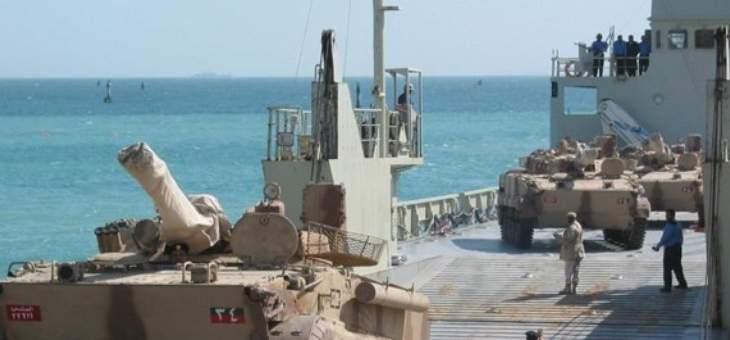 مصادر للميادين: وصول تعزيزات عسكرية إماراتية جديدة إلى عدن
