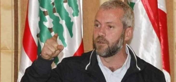 """أنطوان حبشي لـ""""النشرة"""": خيار الانسحاب من الحكومة غير مطروح وعلى حزب الله ايقاف اجندته الاقليمية لتفادي التداعيات السلبية على لبنان"""