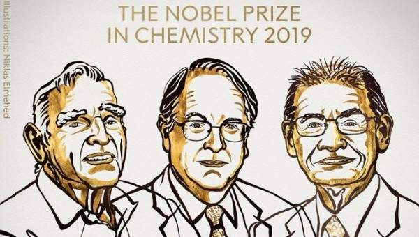 منح جائزة نوبل في الكيمياء لثلاثة علماء لدورهم في تطوير بطاريات الليثيوم