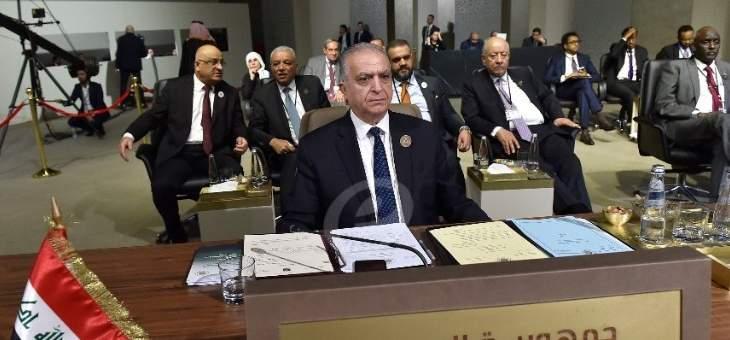 وزير خارجية العراق: سنقدم قريبا طلبا رسميا لعودة سوريا للجامعة العربية