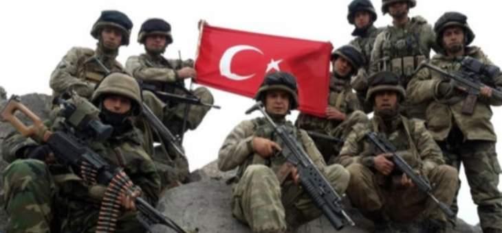 سانا: الجيش التركي يشن هجوما عنيفا على مناطق في ريف رأس العين
