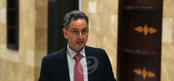 نعمه: آن الأوان ليكون المعيار الوحيد لأي تعيين في الدولة اللبنانية هو الكفاءة فقط