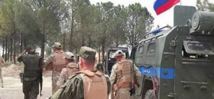 """الشرطة العسكرية الروسية: موجودون في شرق الفرات لحماية الشعب ومنع عودة """"داعش"""""""
