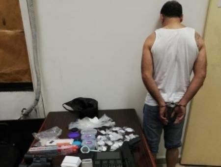 قوى الأمن: مكتب مكافحة المخدرات المركزي أوقف مروج مخدرات