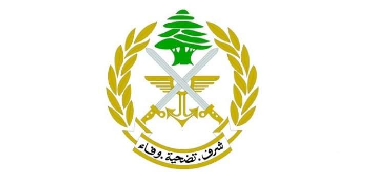 قيادة الجيش تحذر بعض المتظاهرين الذين تجاوزوا الاطر السلمية للتظاهرات