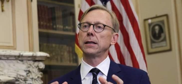 براين هوك: سنفرض المزيد من العقوبات على المتورطين بقمع الحريات في إيران