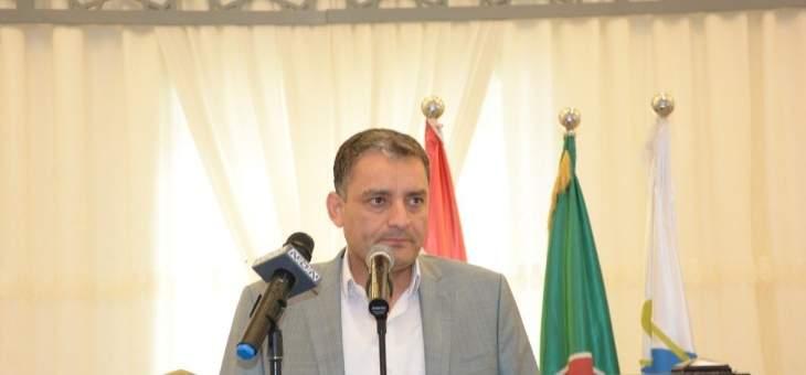 مصطفى الفوعاني: حركة امل لن تألوا جهداً من أجل وحدة لبنان