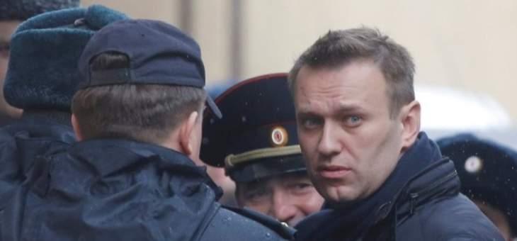 المعارض الروسي أليكسي نافالني يعلن الإضراب عن الطعام