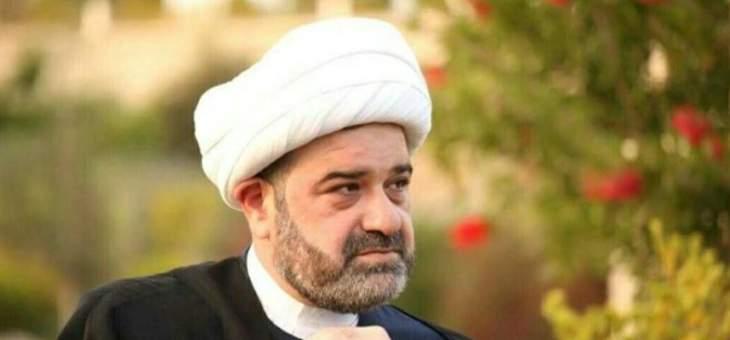 المفتي عبدالله: للمساهمة في تشكيل الحكومة بدلا من الاستفزاز الطائفي