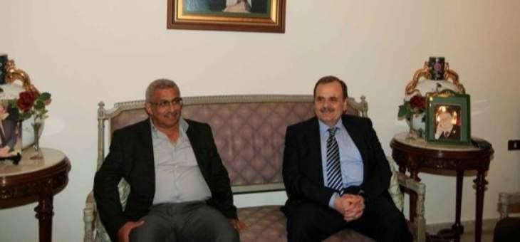 البزري يستقبل سعد: التأكيد على ضرورة دعم وتعزيز ساحات الحراك الشعبي