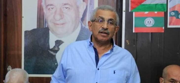 اسامة سعد: جماعات العنف والتطرف تحاول دائما ان تفتعل الحوادث بعين الحلوة