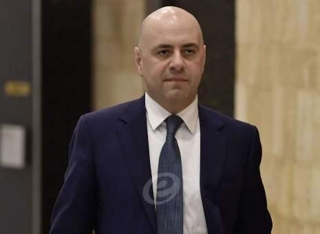 حاصباني: الوضع المالي والاقتصادي أهم من استخدام النازحين السوريين كشماعة