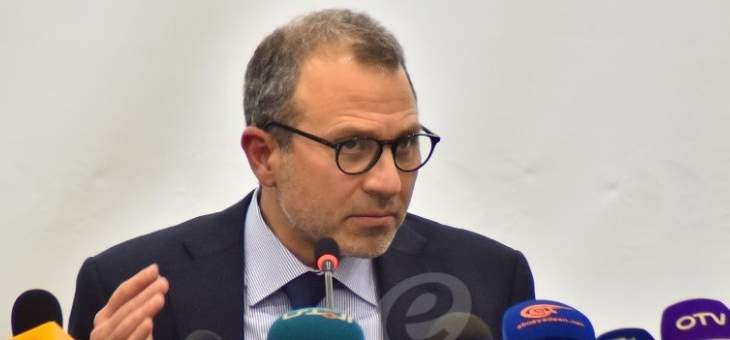 معلومات للـLBCI: باسيل سيتناول بإطلالته غدا انعكاس تطورات السياسة الدولية على وضع لبنان