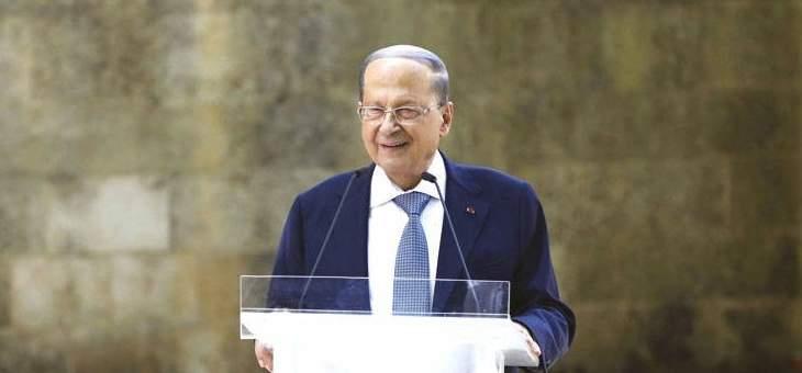 الرئيس عون دان اعتداء الضاحية: دليل اضافي على نوايا اسرائيل العدوانية