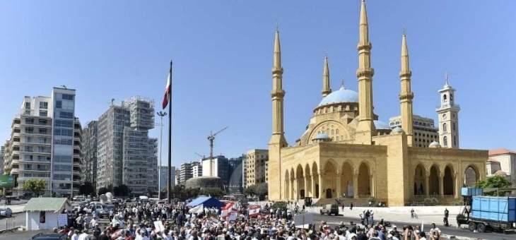 إعادة فتح الطرقات في ساحة الشهداء والأسلاك تقفل المرور الى مجلس النواب