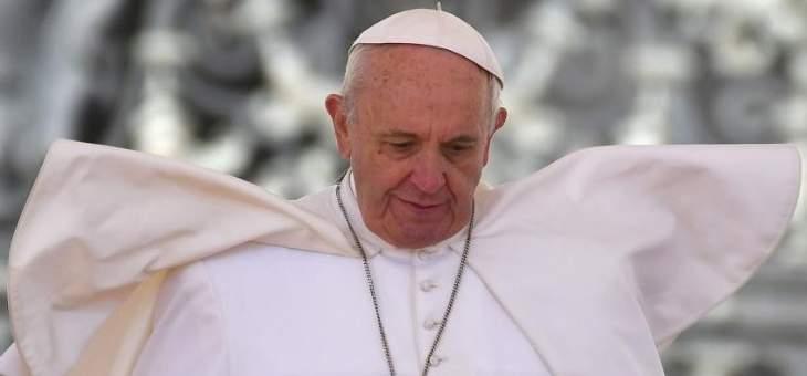 """البابا فرنسيس شكر قوات """"اليونيفيل"""": يساهمون في نشر رسالة الأخوة"""