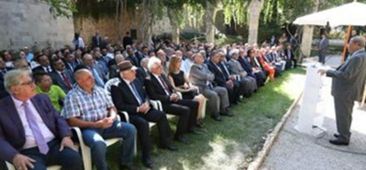 الرئيس عون: سنخرج من الوضع الاقتصادي الصعب من خلال قرارات لا بد منها لاستعادة النهوض