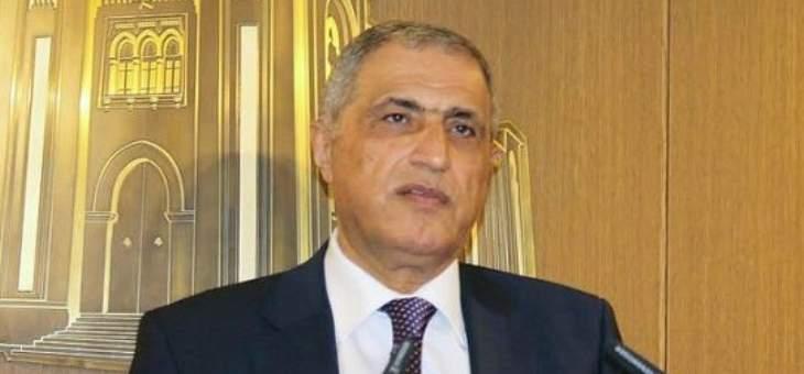 هاشم: للإسراع بتشكيل حكومة إنقاذية جامعة وإقرار قانون انتخابي يعتمد لبنان دائرة انتخابية