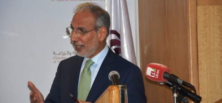 شرف الدين: رؤية الغرفة تسمح لطرابلس أن تصبح عاصمة إقتصادية للبنان