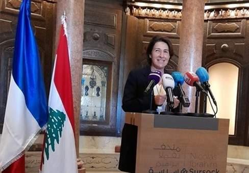 السفيرة الفرنسية بلبنان: توقيع اتفاقية بين متحف سرسق ووزارة الثقافة الفرنسية لترميم الواجهات الزجاجية