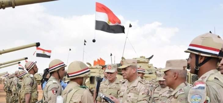 وزير الدفاع المصري: الجيش شهد قفزات غير مسبوقة في التدريب والتسليح