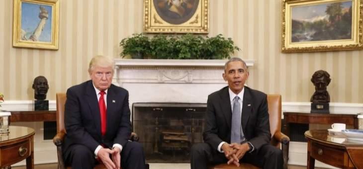 صحيفة آي: ترامب وأوباما اشتركا بأخطائهما في الوضع الذي آلت إليه سوريا