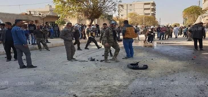 مقتل مدني بانفجار دراجة نارية مفخخة في مدينة جرابلس بريف حلب الشرقي