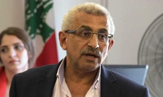 أسامة سعد أعلن مقاطعته جلسة المجلس النيابي غدا الثلاثاء