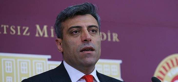 نائب تركي: نبحث الخيارات المتاحة للرد على العقوبات الأميركية