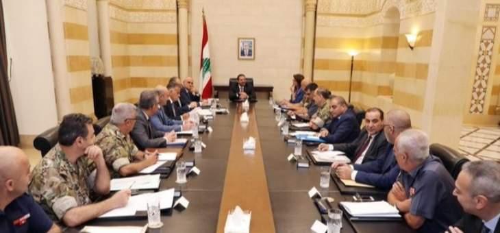 الحريري يترأس اجتماعا ضم الحسن وبوصعب وخليل وقادة الأجهزة الأمنية لمناقشة موضوع التهريب على الحدود