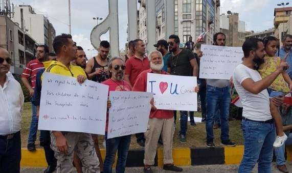 بدء توافد المعتصمين الى ساحة النور في طرابلس