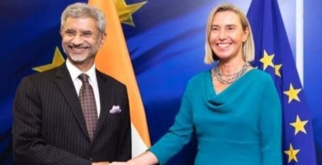 موغيريني بحثت مع وزير خارجية الهند بأزمة كشمير: نؤيد التوصل لحل سياسي سلمي