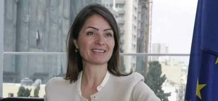"""لاسن: نعمل على تسهيل وصول منتجات لبنان لأورويا وتوفير ما هو مطلوب في """"سيدر"""""""